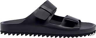 Officine Creative Fashion Man AGORA002BLACK Black Leather Sandals | Spring Summer 20