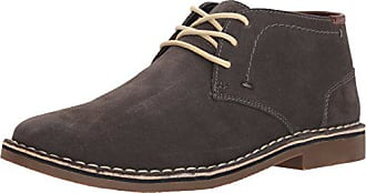 Kenneth Cole Reaction Mens Desert Sun SU Chukka Boot, Dark Grey Suede, 10.5 M US