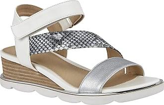 Lotus Womens Sophia Open Toe Sandals, White (White Wz), 6 (40 EU)