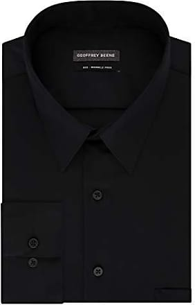 7be21c31c41 Geoffrey Beene Mens FIT Dress Shirts Sateen Solid (Big and Tall)
