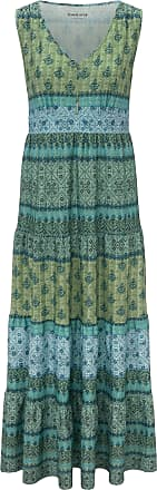 Peter Hahn Jersey-Kleid Green Cotton mehrfarbig