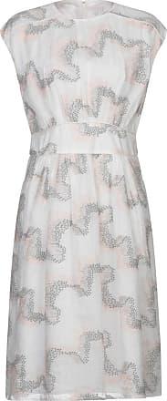 Intropia Weißes besticktes Kleid - UK16