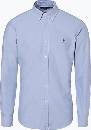 Polo Ralph Lauren Herren Hemd Slim Fit blau