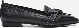 Flattered Ally Grained Leather Black