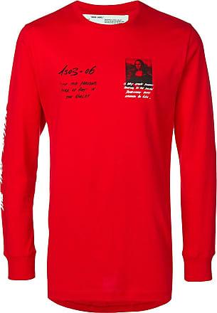 e7800726a4 Off-white Camiseta mangas longas - Vermelho