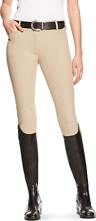 Ariat Womens Heritage Full Seat Riding Breech in Tan Cotton, Size 22 Long, by Ariat
