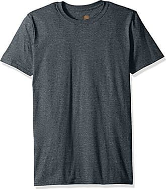 Gold Toe Mens Crew Neck T-Shirt, Dark Grey, Large