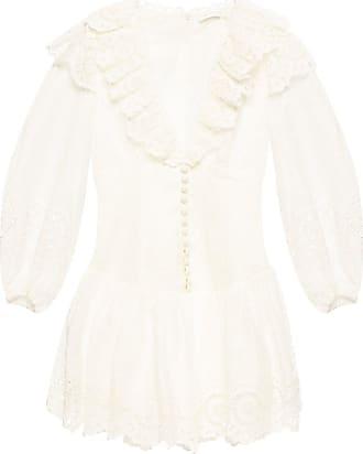Zimmermann Openwork Dress Womens Cream
