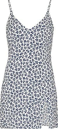 Reformation Vestido mini com estampa floral Marlowe - Neutro