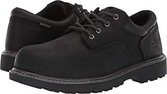 Wolverine Mens Floorhand Oxford Steel Toe Construction Shoe, Black, 14 M US