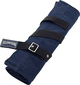 Vilebrequin Accessories - Big Cotton Beach Bag Solid - BEACH BAG - BAGSU - Blue - OSFA - Vilebrequin