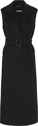 Max Mara Levico sleeveless wool-blend coat