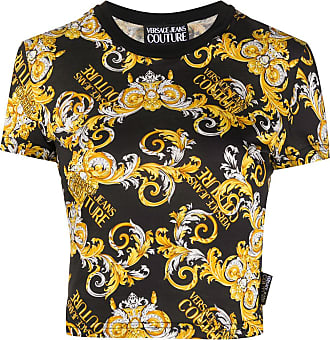 Versace Jeans Couture T-shirt con stampa - Di colore nero