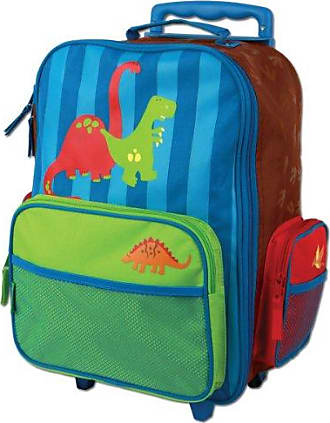 Stephen Joseph Dino Rolling Luggage, Multi, One Size, 1-Pack