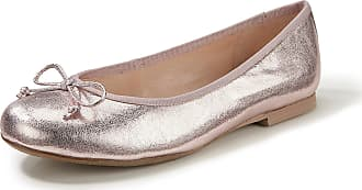 Gerry Weber Ballerina pumps in fine kidskin nappa leather Gerry Weber pale pink