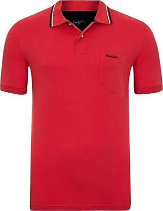 Pierre Cardin Polo com bolso Basic Vermelha M