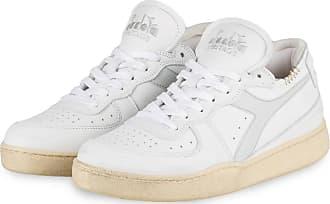 Diadora Sneaker BASKET ROW - WEISS/ HELLGRAU