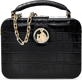 Lanvin Bento Minaudire Shoulder Bag Womens Black