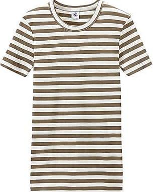 Petit Bateau T-shirt femme en côte originale rayée