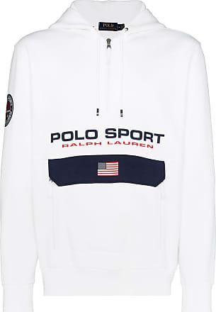 Polo Ralph Lauren Kapuzenpullover mit Reißverschluss - Weiß