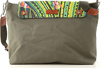 Etro Messenger Bag for Men On Sale, Military Green, Canvas, 2017, one size
