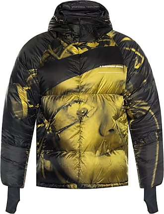 Undercover Quilted Down Jacket Mens Green