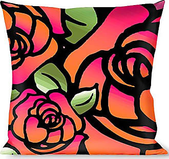 Buckle Down Pillow Decorative Throw Born to Blossom Close Up Pink
