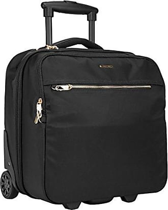Travelon Anti-Theft Tailored Wheeled Underseat Carry-On Bag - Onyx