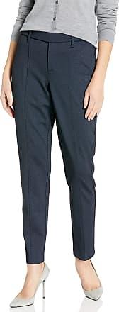 NYDJ Womens Slim Ponte Trouser Jeans, Heathered Navy, 14 27
