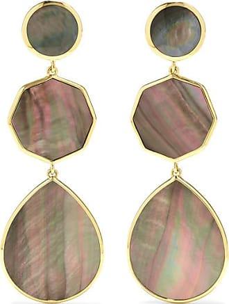 Ippolita Polished Rock Candy 18-karat Gold Shell Earrings