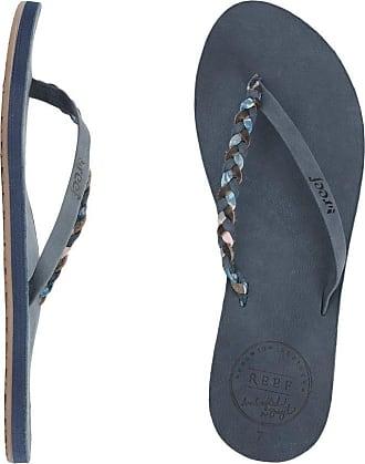 Reef WomenâEURs Premium Twyst Flip Flop, Blue, UK7