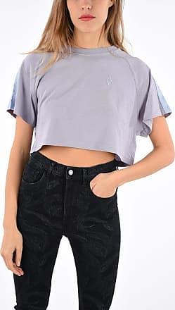 Marcelo Burlon Short Sleeves Crop Top size Xs