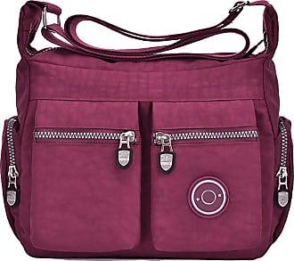 GFM Womens Nylon Cross Body Shoulder Bag (88) (S5-755-GHFSH)