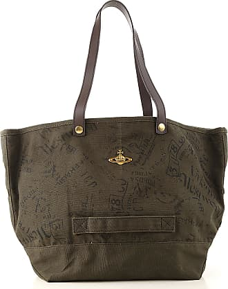 Vivienne Westwood Totes On Sale, Musk, Cotton Canvas, 2019, one size