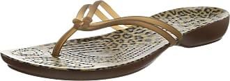 Crocs Isabella Graphic, Womens Flip Flops, Leopard, 9 UK (11 US) (42-43 EU)
