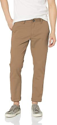 Volcom Mens Frickin Slim Chino Pant Casual, Gravel, 38