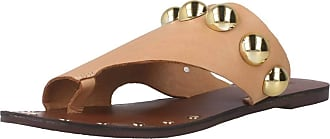 Inuovo Women Sandals and Slippers Women 464001I Brown 7.5 UK