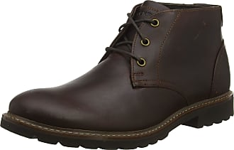Rockport Mens Sharp & Ready Chukka Boots, Brown (Saddle Brown 001), 7.5 (41 EU)