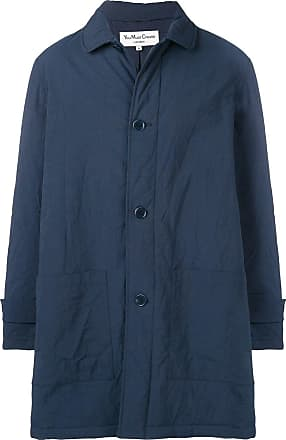 Ymc You Must Create single-brested coat - Blue