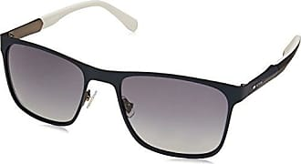 Fossil Mens Fos 2067/s Square Sunglasses, Matte Blue, 56 mm