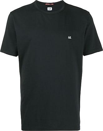 C.P. Company Camiseta com estampa de logo - Preto