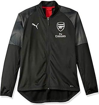 e11d0626062a Puma Mens Arsenal FC Stadium Jacket Sponsor Logo