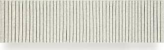 Hey-Sign Welle Akustikelement Wandmodul 150cm - marmorgrau/Filz in 3mm Stärke/HxBxT 40x150x9cm/mit Wandhalterungen