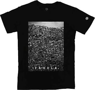 Stoned Camiseta Masculina Favela - Tsmfavelax-pt-02