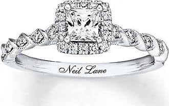 Neil Lane Bridal Diamond Ring 3/4 carat tw 14K White Gold