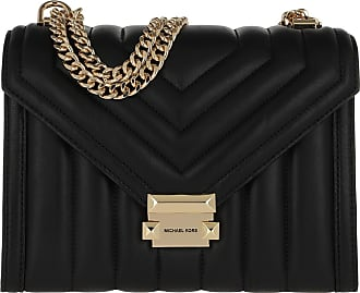 Michael Kors Cross Body Bags - Whitney Large Shoulder Bag Black - black - Cross Body Bags for ladies