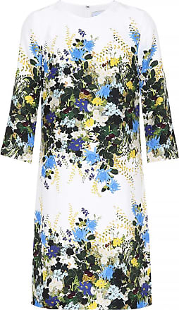 Erdem Floral-printed silk minidress