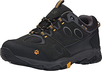 EU Basses HommeNoirBurly de Attack Low MChaussures Randonnée Wolfskin Yellow 380040 5 MTN Texapore 5 Jack JF1cKTl