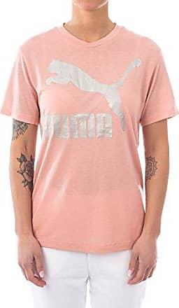 PUMA Bold Tee Sportshirt Dames Bright Peach