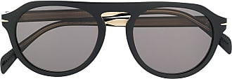 David Beckham aviator sunglasses - Preto